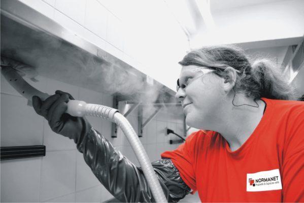 Travaux exceptinnels - nettoyage vapeur
